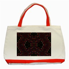 Philosophie Wheel Classic Tote Bag (red) by MRTACPANS