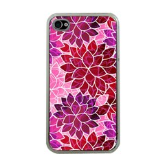 Rose Quartz Flowers Apple Iphone 4 Case (clear) by KirstenStar