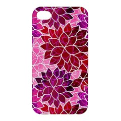Rose Quartz Flowers Apple Iphone 4/4s Premium Hardshell Case by KirstenStar