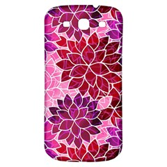 Rose Quartz Flowers Samsung Galaxy S3 S Iii Classic Hardshell Back Case by KirstenStar