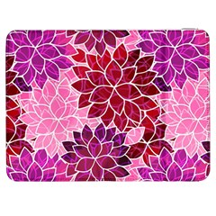 Rose Quartz Flowers Samsung Galaxy Tab 7  P1000 Flip Case by KirstenStar