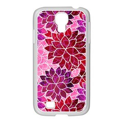 Rose Quartz Flowers Samsung Galaxy S4 I9500/ I9505 Case (white) by KirstenStar