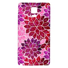 Rose Quartz Flowers Galaxy Note 4 Back Case by KirstenStar