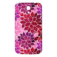 Rose Quartz Flowers Samsung Galaxy Mega I9200 Hardshell Back Case by KirstenStar