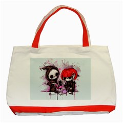Local Anesthetic Classic Tote Bag (red) by lvbart