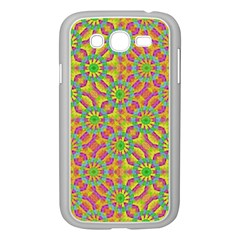 Modern Colorful Geometric Samsung Galaxy Grand Duos I9082 Case (white) by dflcprints