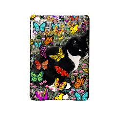 Freckles In Butterflies I, Black White Tux Cat Ipad Mini 2 Hardshell Cases by DianeClancy