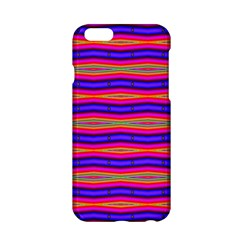 Bright Pink Purple Lines Stripes Apple Iphone 6/6s Hardshell Case by BrightVibesDesign