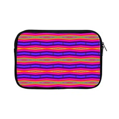 Bright Pink Purple Lines Stripes Apple Ipad Mini Zipper Cases by BrightVibesDesign