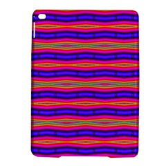 Bright Pink Purple Lines Stripes Ipad Air 2 Hardshell Cases by BrightVibesDesign