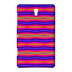 Bright Pink Purple Lines Stripes Samsung Galaxy Tab S (8 4 ) Hardshell Case  by BrightVibesDesign
