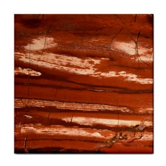 Red Earth Natural Tile Coasters by UniqueCre8ion