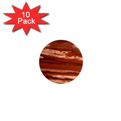 Red Earth Natural 1  Mini Buttons (10 Pack)  by UniqueCre8ion