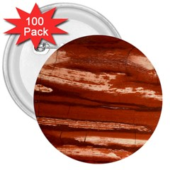 Red Earth Natural 3  Buttons (100 Pack)  by UniqueCre8ion