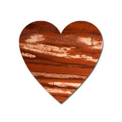 Red Earth Natural Heart Magnet by UniqueCre8ion