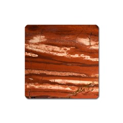 Red Earth Natural Square Magnet by UniqueCre8ion