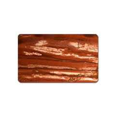 Red Earth Natural Magnet (name Card) by UniqueCre8ion