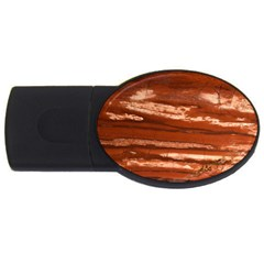 Red Earth Natural Usb Flash Drive Oval (2 Gb)  by UniqueCre8ion