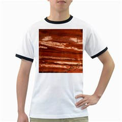 Red Earth Natural Ringer T Shirts by UniqueCre8ion