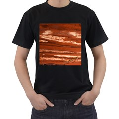 Red Earth Natural Men s T Shirt (black) (two Sided) by UniqueCre8ion