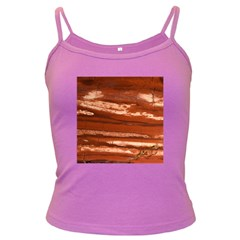 Red Earth Natural Dark Spaghetti Tank by UniqueCre8ion