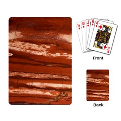 Red Earth Natural Playing Card by UniqueCre8ion