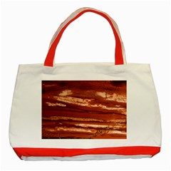 Red Earth Natural Classic Tote Bag (red) by UniqueCre8ion