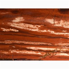 Red Earth Natural Canvas 12  X 16   by UniqueCre8ion