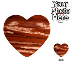 Red Earth Natural Multi Purpose Cards (heart)  by UniqueCre8ion