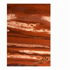 Red Earth Natural Small Garden Flag (two Sides) by UniqueCre8ion