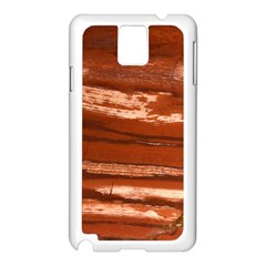 Red Earth Natural Samsung Galaxy Note 3 N9005 Case (white) by UniqueCre8ion