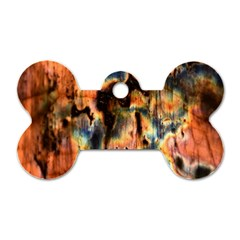 Naturally True Colors  Dog Tag Bone (two Sides) by UniqueCre8ions