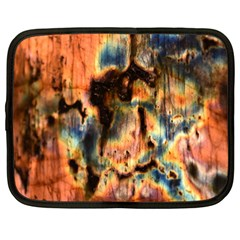 Naturally True Colors  Netbook Case (large) by UniqueCre8ions