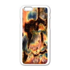Naturally True Colors  Apple Iphone 6/6s White Enamel Case by UniqueCre8ions