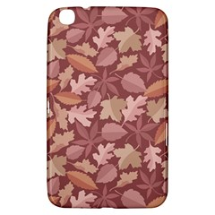 Marsala Leaves Pattern Samsung Galaxy Tab 3 (8 ) T3100 Hardshell Case  by sifis