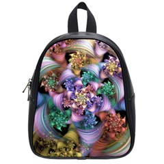 Bright Taffy Spiral School Bags (small)  by WolfepawFractals