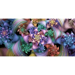Bright Taffy Spiral You Are Invited 3d Greeting Card (8x4)