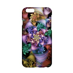 Bright Taffy Spiral Apple Iphone 6/6s Hardshell Case by WolfepawFractals