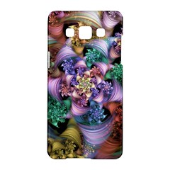Bright Taffy Spiral Samsung Galaxy A5 Hardshell Case