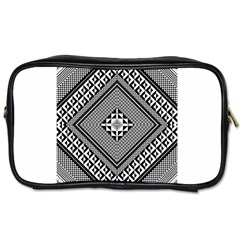 Geometric Pattern Vector Illustration Myxk9m   Toiletries Bags 2 Side by dsgbrand