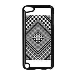 Geometric Pattern Vector Illustration Myxk9m   Apple Ipod Touch 5 Case (black) by dsgbrand