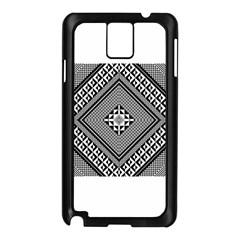 Geometric Pattern Vector Illustration Myxk9m   Samsung Galaxy Note 3 N9005 Case (black) by dsgbrand