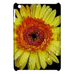 Yellow Flower Close Up Apple Ipad Mini Hardshell Case by MichaelMoriartyPhotography