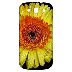 Yellow Flower Close Up Samsung Galaxy S3 S Iii Classic Hardshell Back Case by MichaelMoriartyPhotography