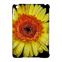 Yellow Flower Close Up Apple Ipad Mini Hardshell Case (compatible With Smart Cover) by MichaelMoriartyPhotography