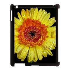 Yellow Flower Close Up Apple Ipad 3/4 Case (black) by MichaelMoriartyPhotography
