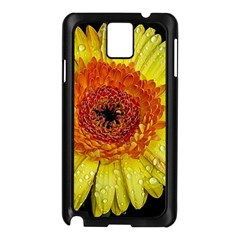 Yellow Flower Close Up Samsung Galaxy Note 3 N9005 Case (black) by MichaelMoriartyPhotography