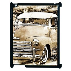 Vintage Chevrolet Pick Up Truck Apple Ipad 2 Case (black) by MichaelMoriartyPhotography