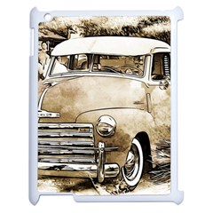 Vintage Chevrolet Pick Up Truck Apple Ipad 2 Case (white) by MichaelMoriartyPhotography