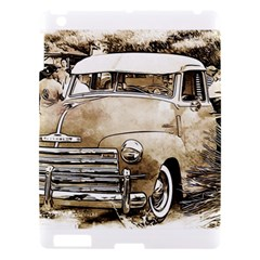 Vintage Chevrolet Pick Up Truck Apple Ipad 3/4 Hardshell Case by MichaelMoriartyPhotography